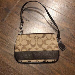 Coach change purse/wristlet